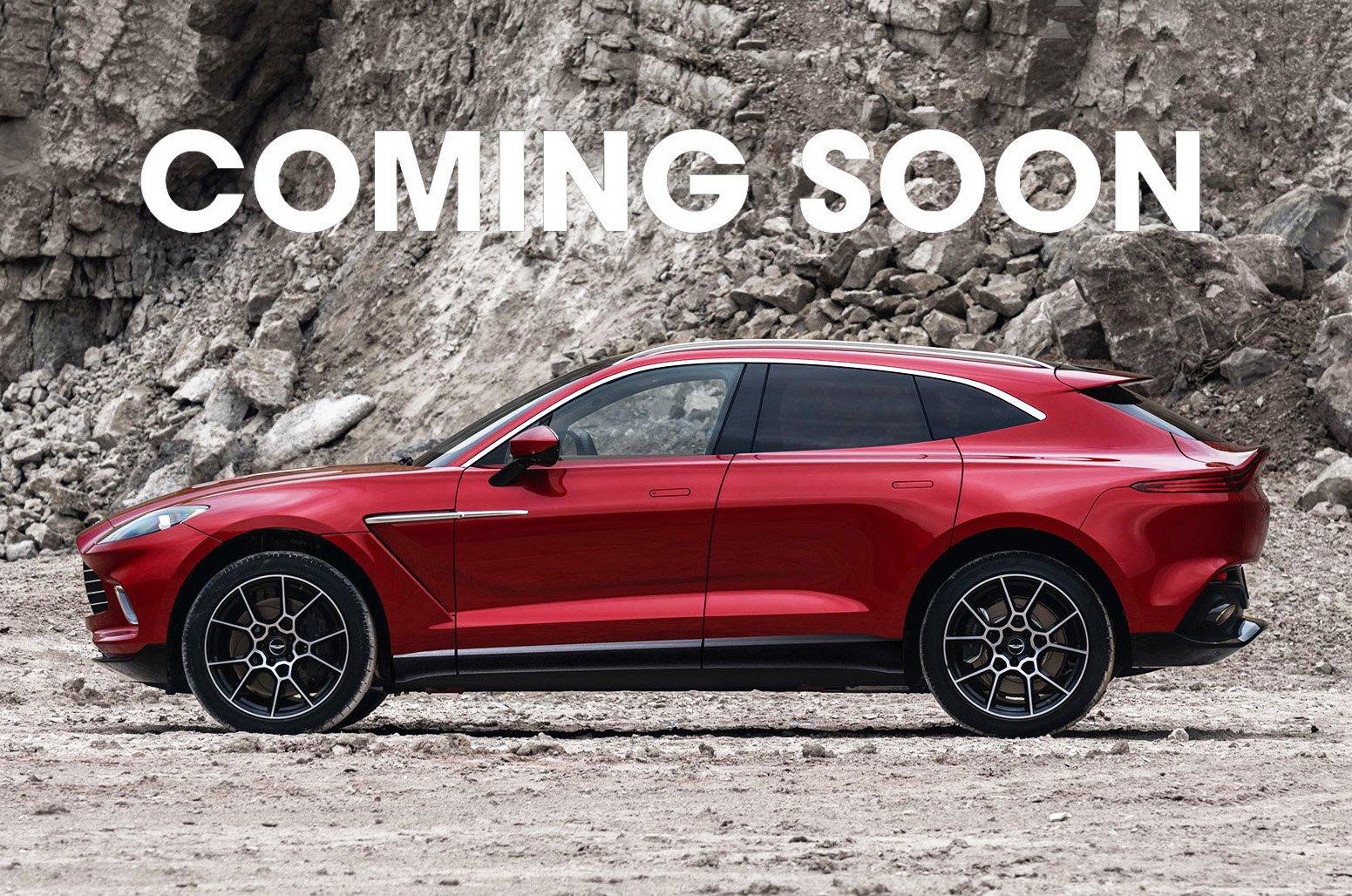 Coming soon - Aston Martin DBX