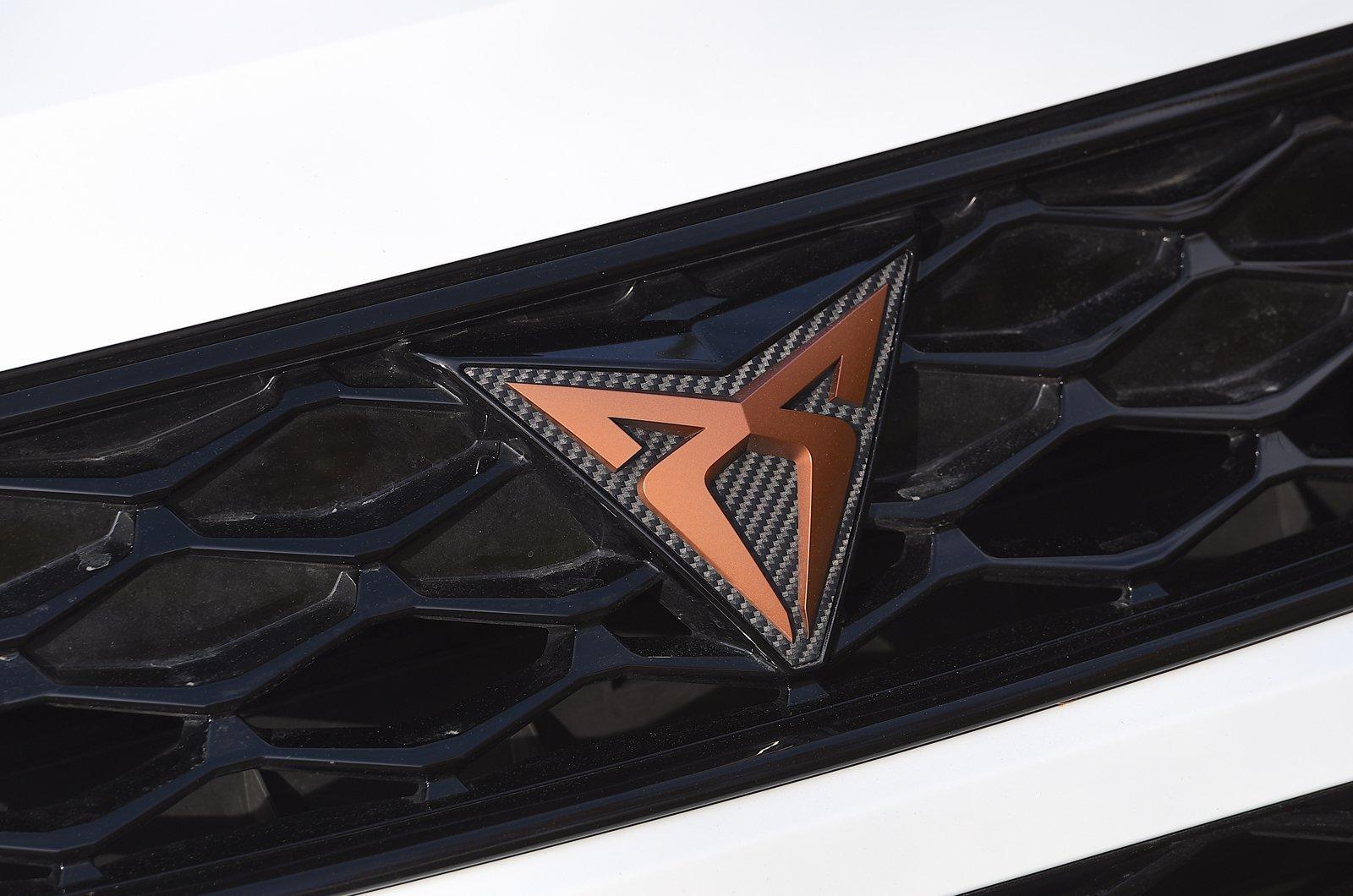 Cupra Ateca front grille badge