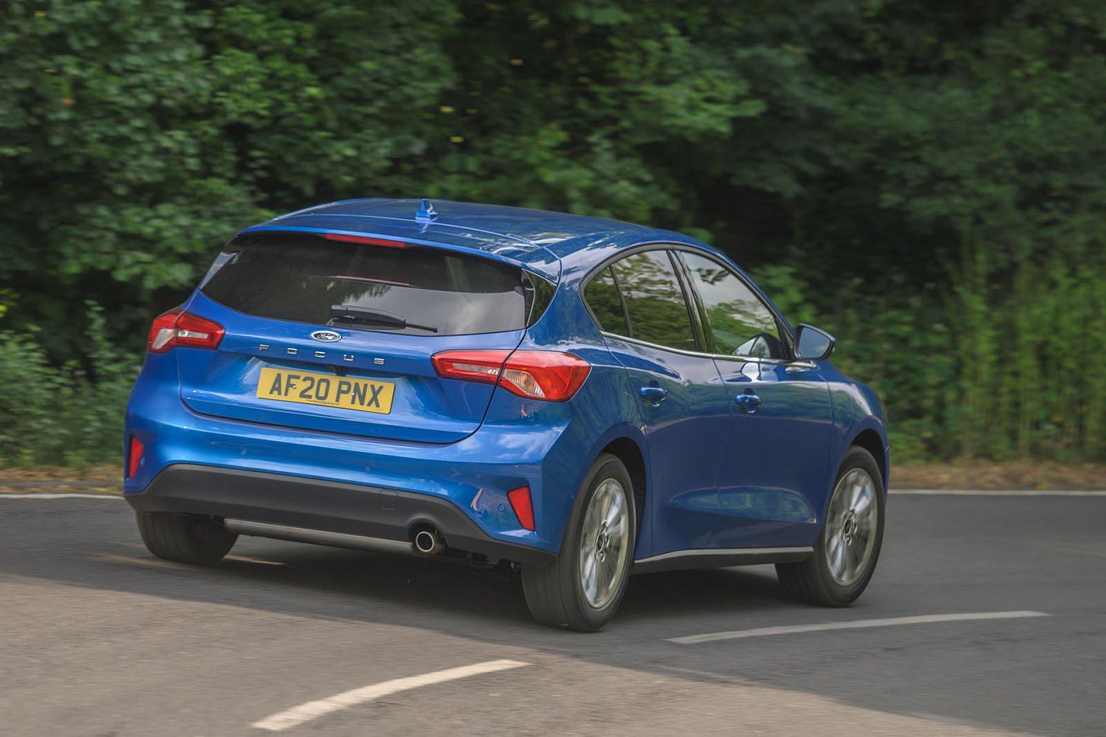 Ford Focus 2020 RHD rear tracking