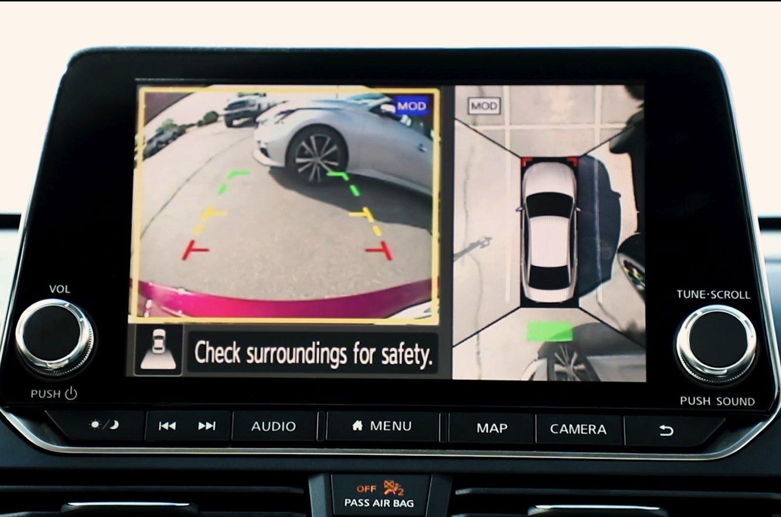 Nissan Juke camera system