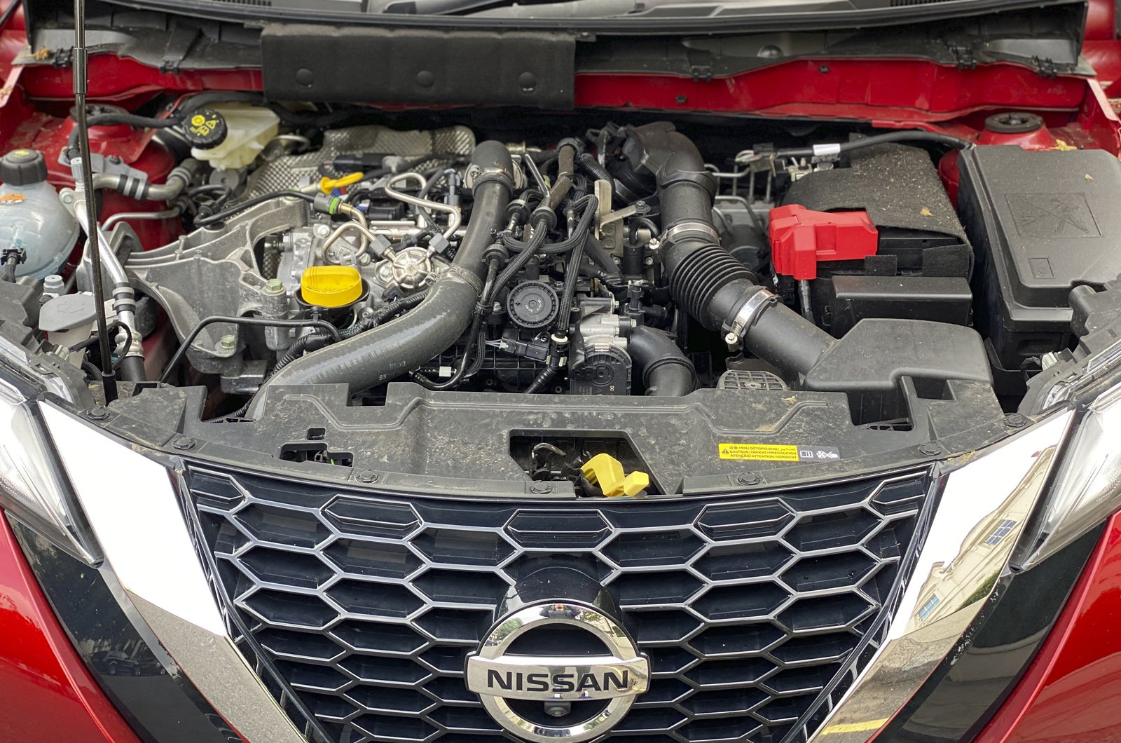 Nissan Juke long-term engine