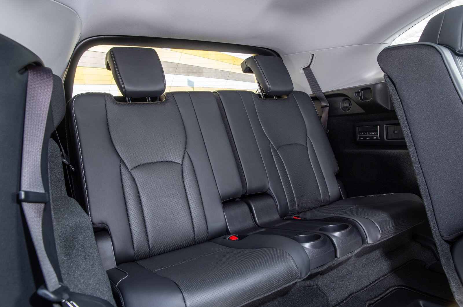 Lexus RX L 2021 interior rear seats