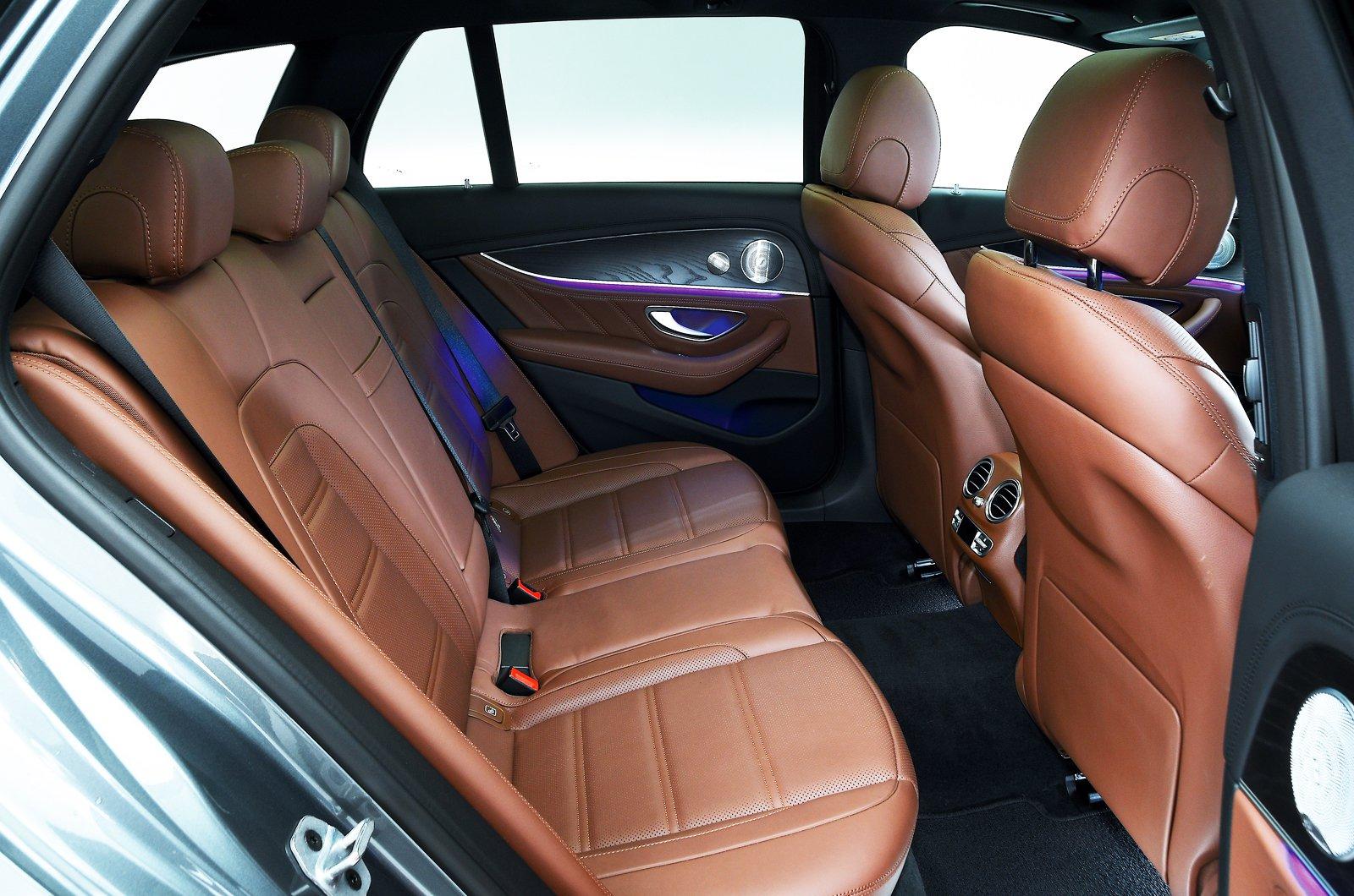 Mercedes-AMG E63 S Estate rear seats