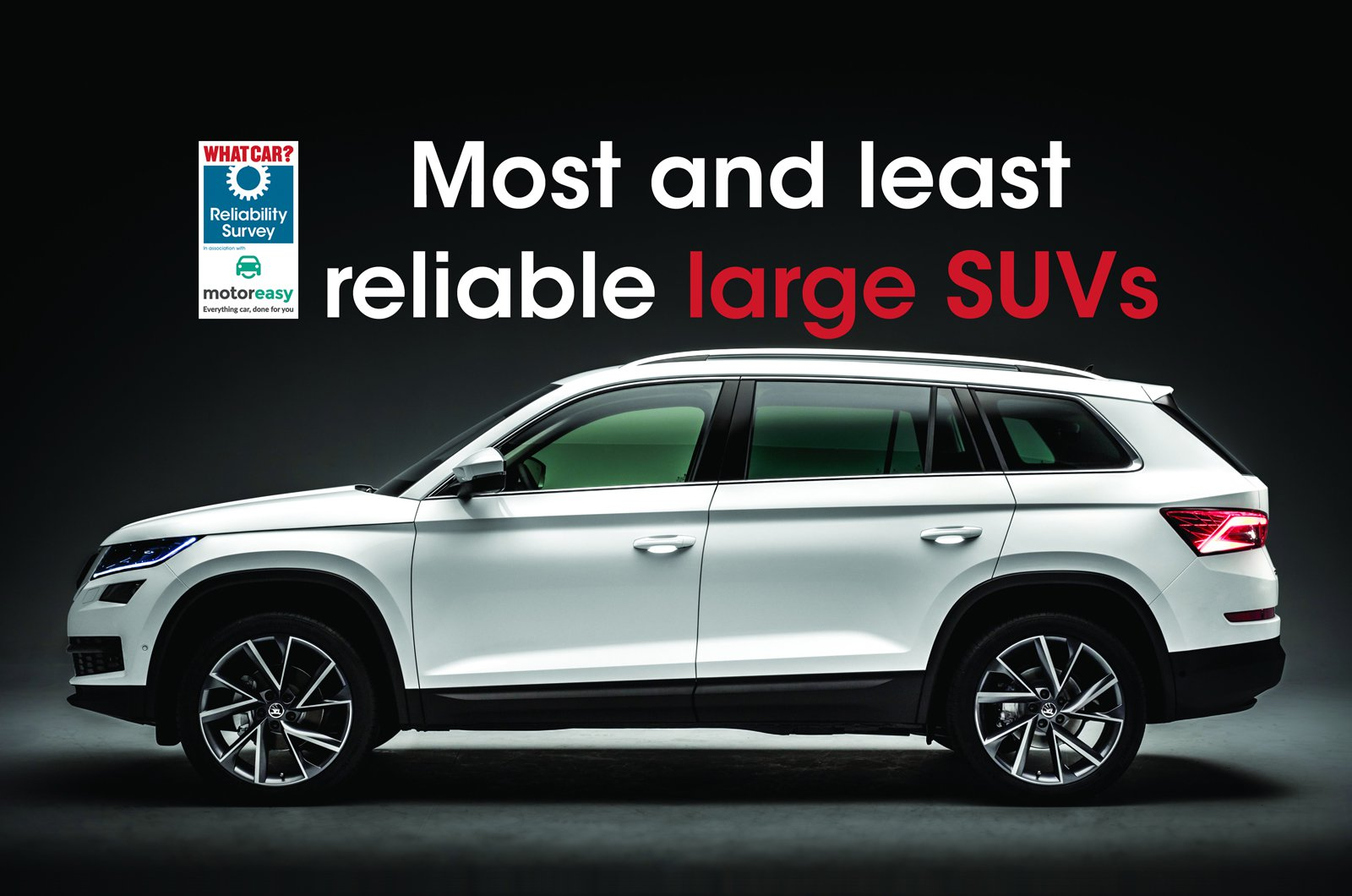 Most and least reliable large SUVs