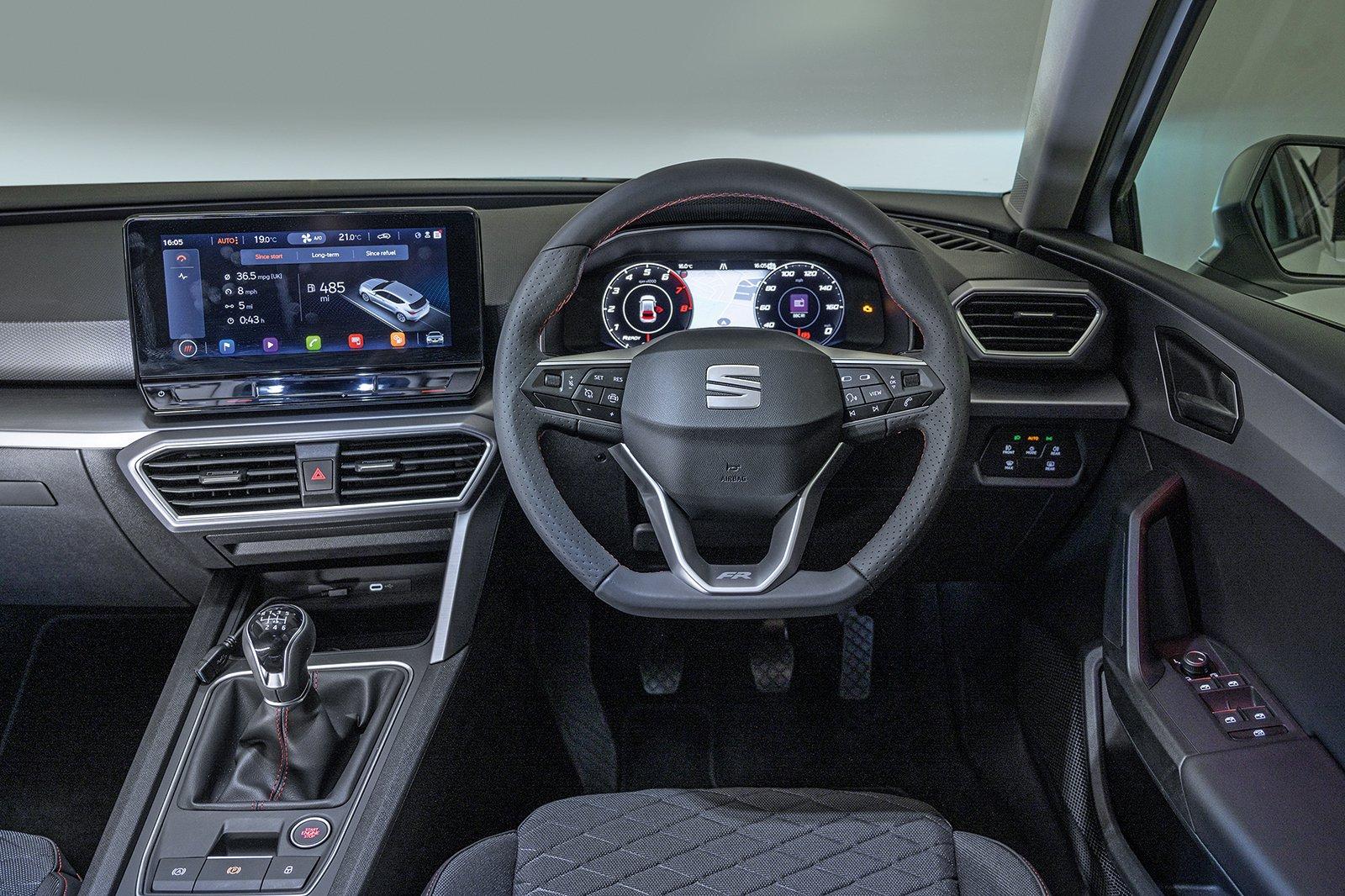 Seat Leon 2021 RHD dashboard