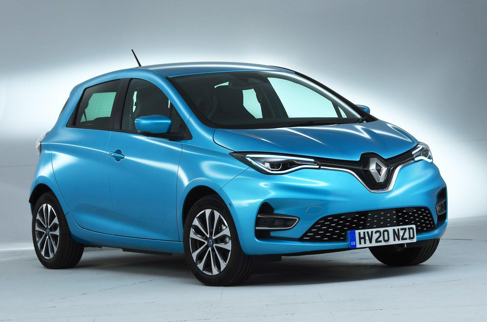Renault Zoe front studio