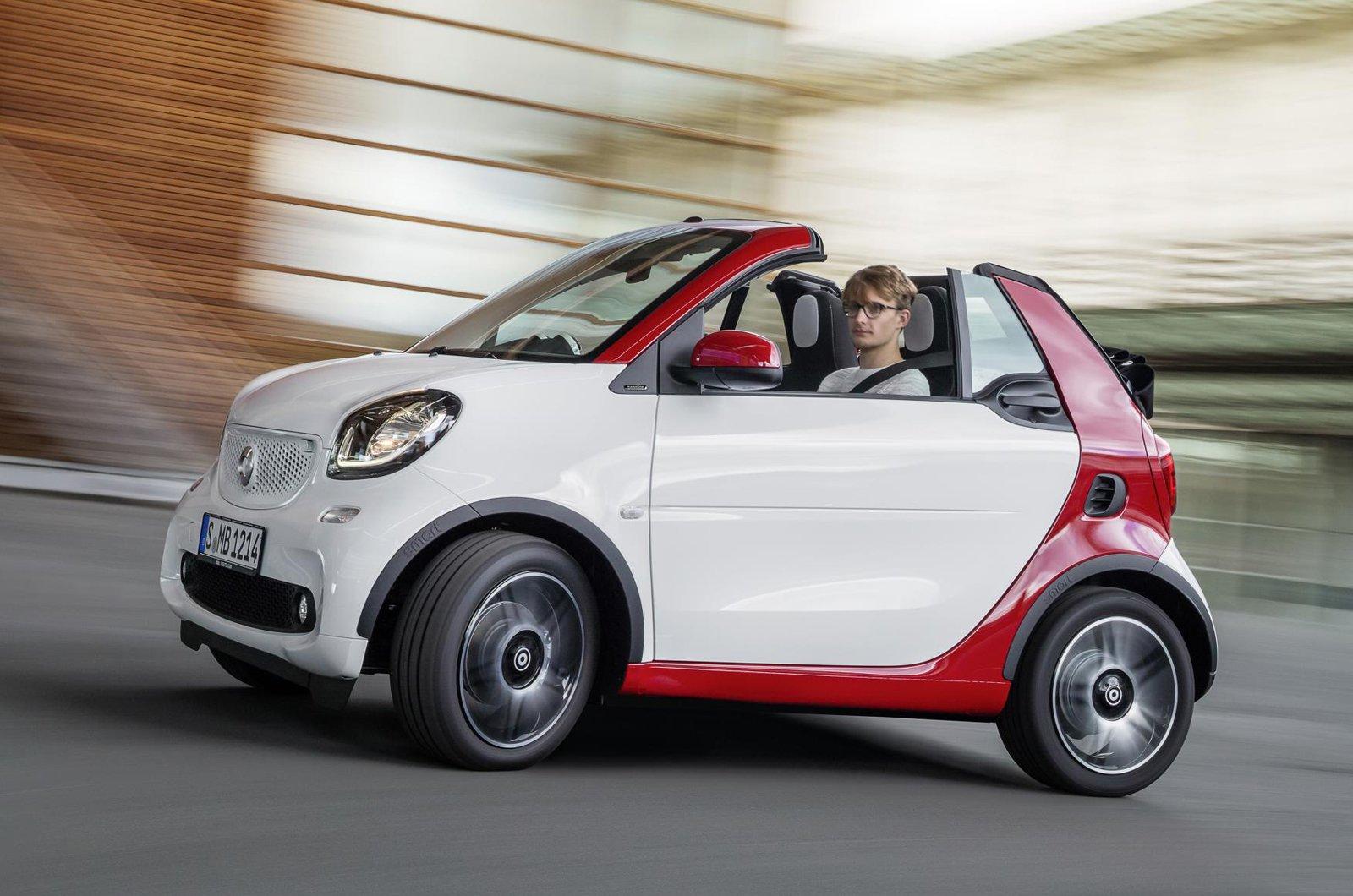 Smart Fortwo Cabrio side
