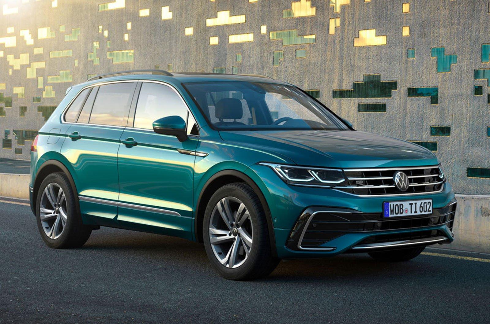 2021 Volkswagen Tiguan front