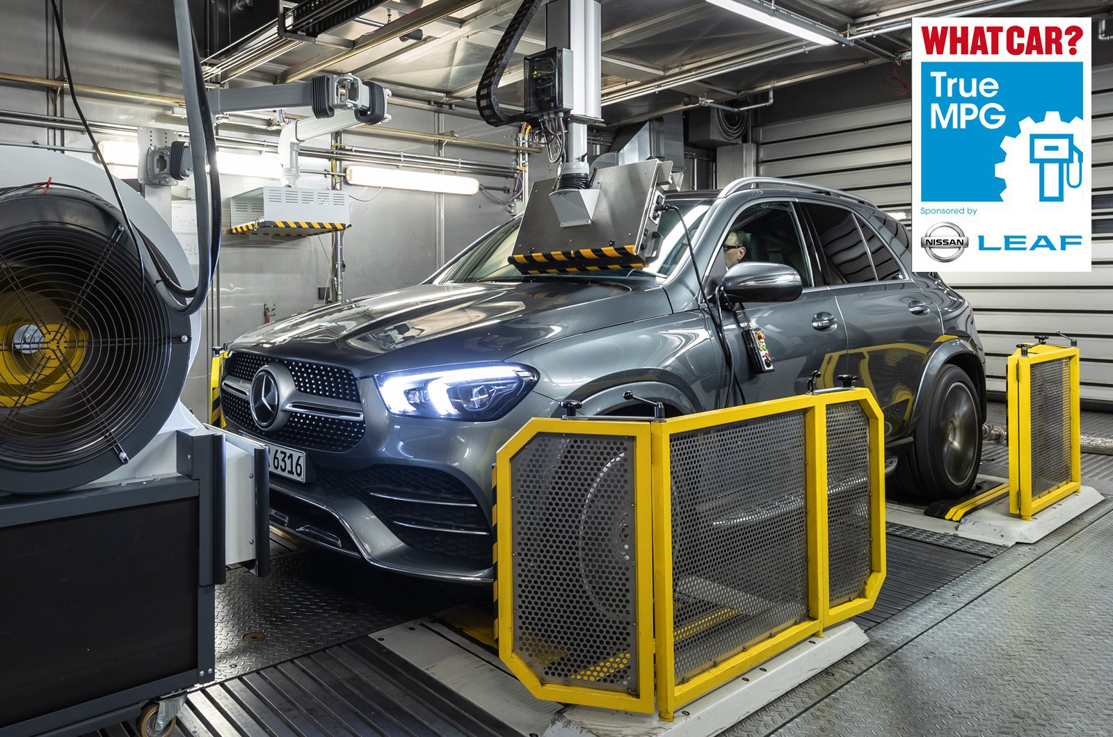 True MPG - Mercedes GLE emissions test