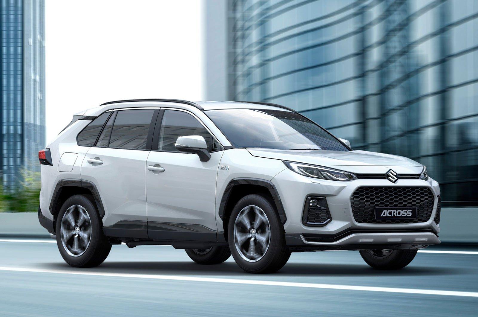 Suzuki Across front
