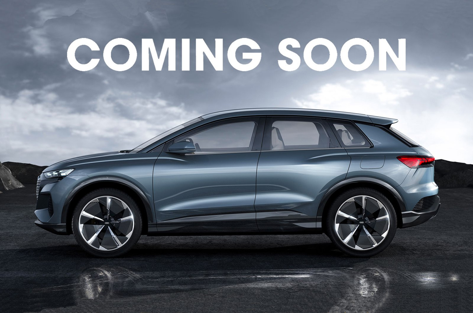 Coming soon - Audi Q4 E-tron