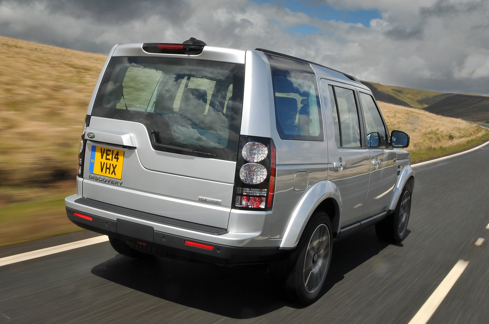 Used Land Rover Discovery rear corner