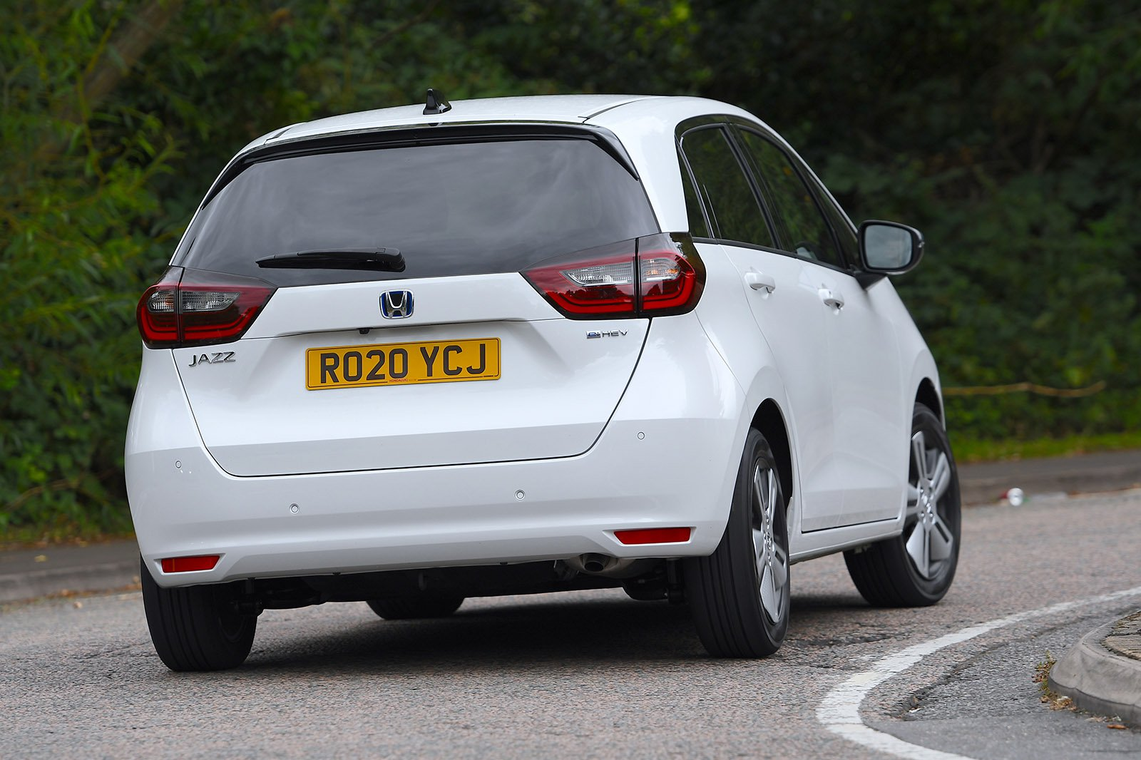 Honda Jazz 2020 rear cornering