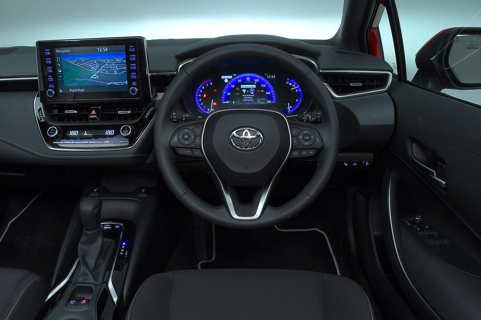 Toyota Corolla Touring Sport 2020 RHD dashboard