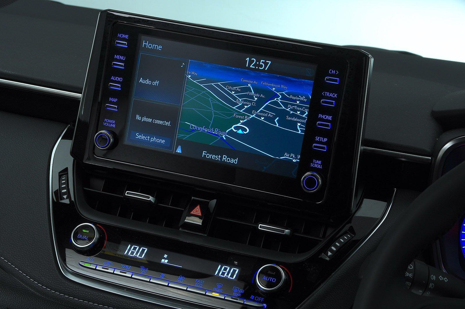 Toyota Corolla Touring Sport infotainment