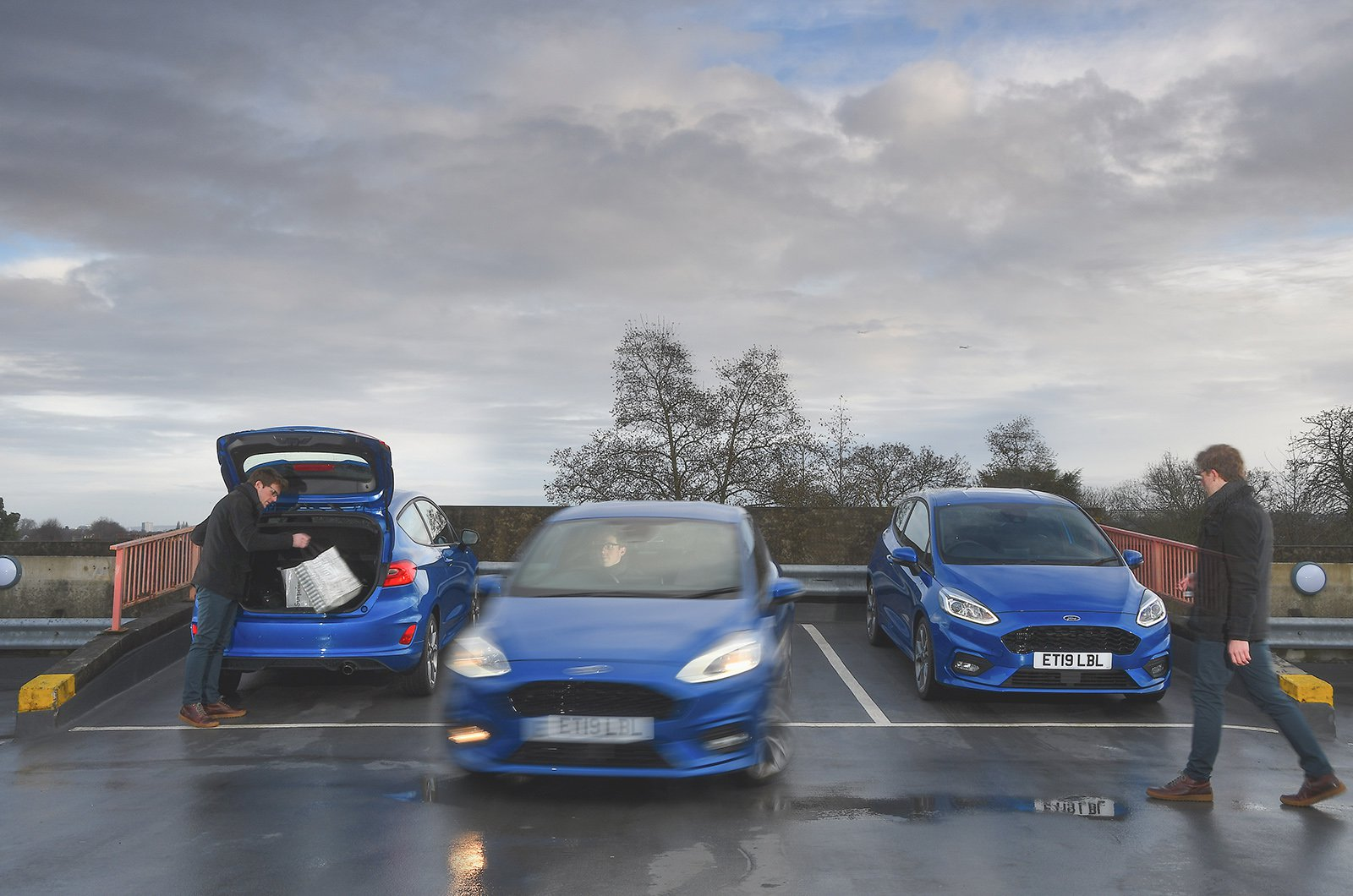 Used Ford Fiesta fitting in with daily life