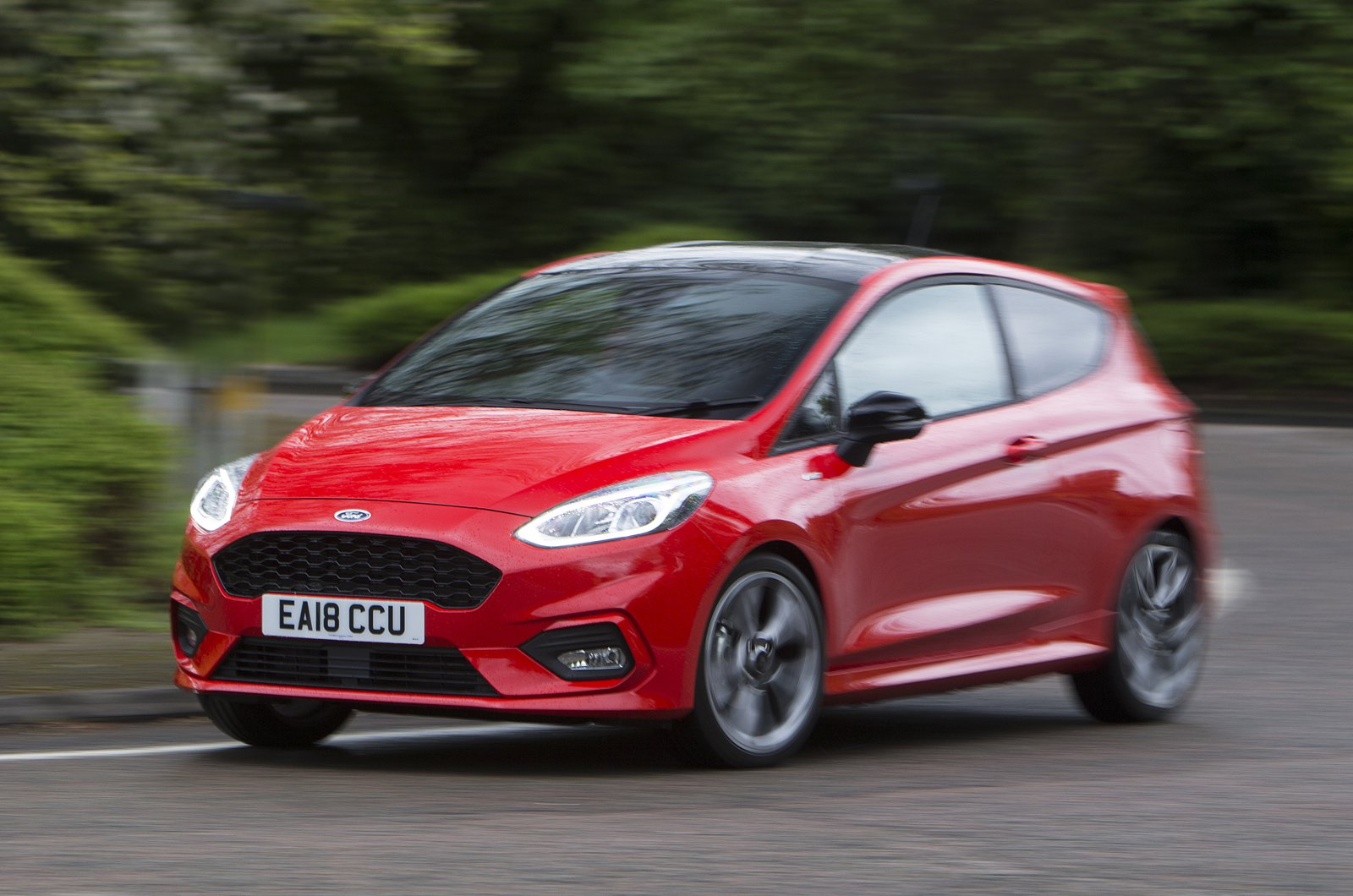 Ford Fiesta 3dr front action