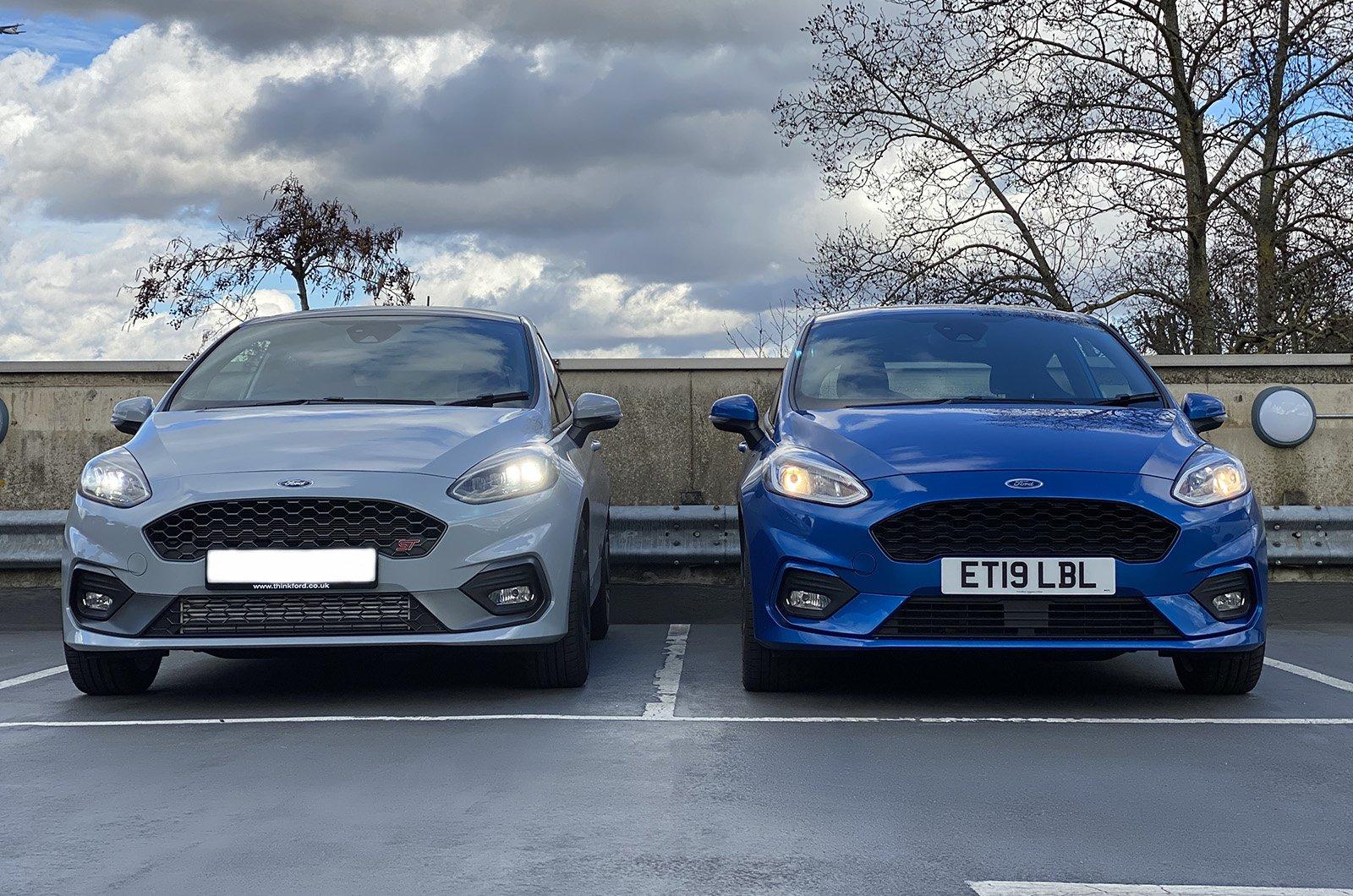 LT Ford Fiesta halogen vs LED