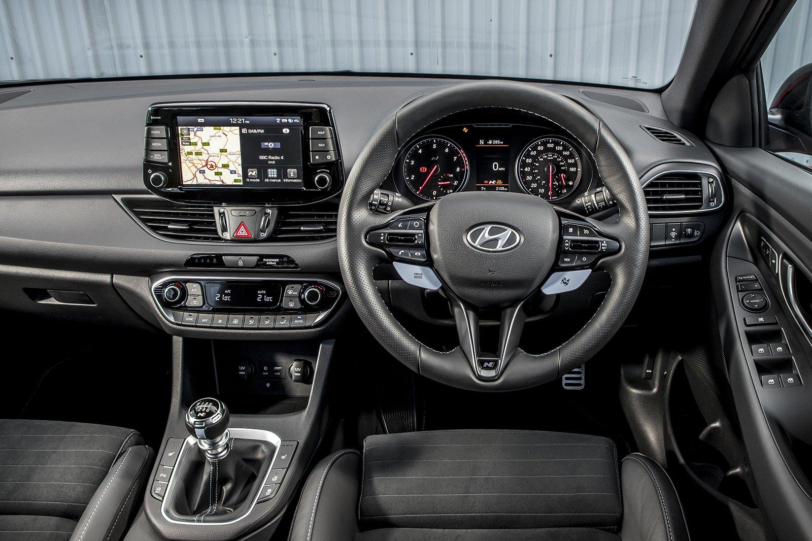 Hyundai i30N 2020 RHD dashboard
