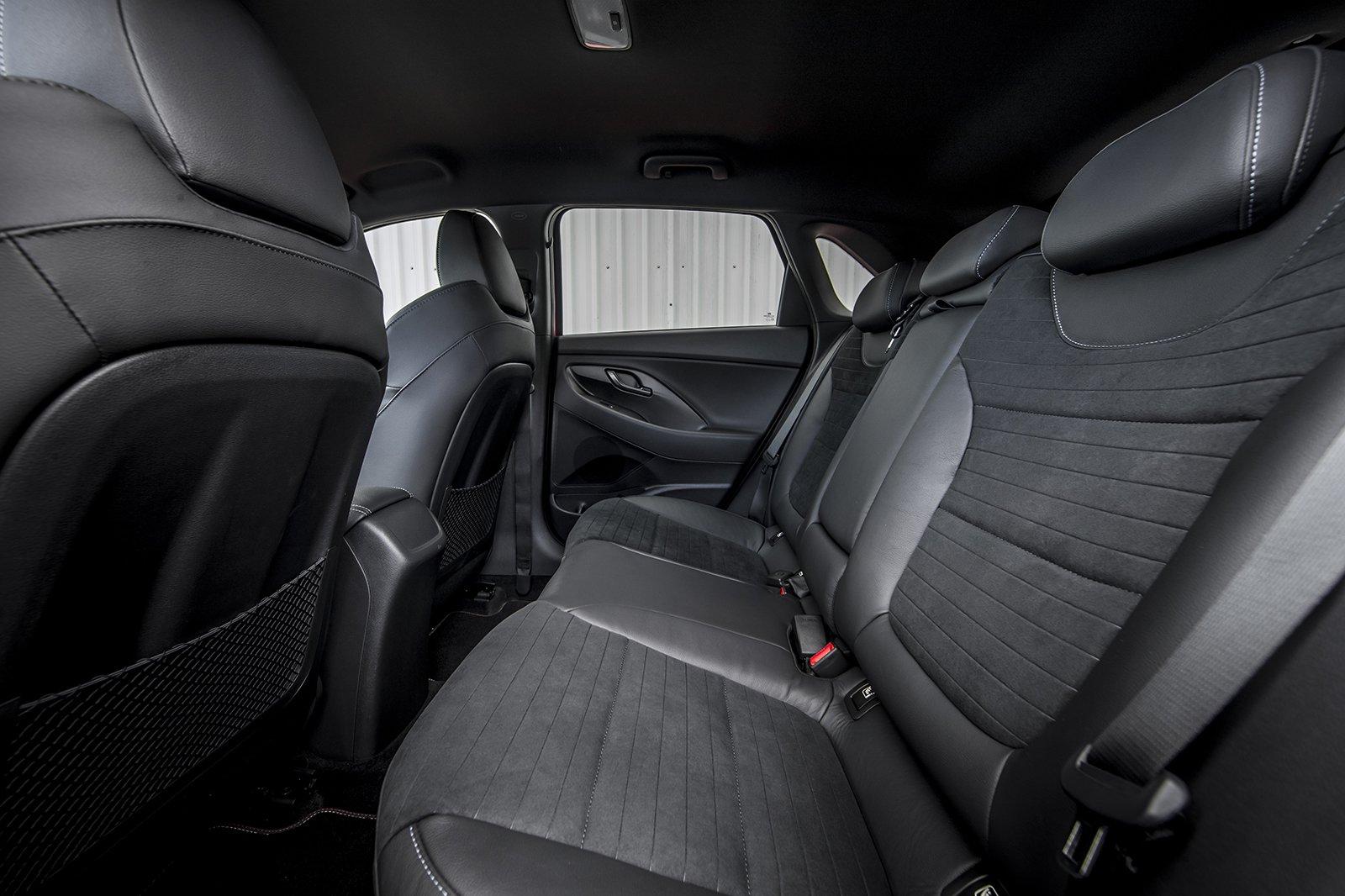 Hyundai i30N 2020 RHD rear seats