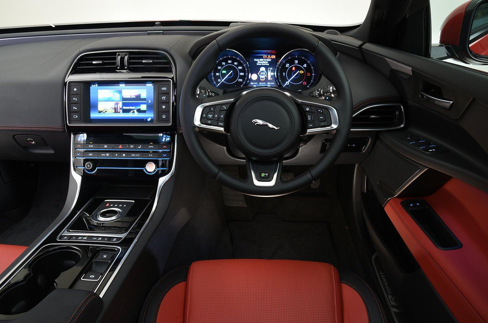 Jaguar XE 15-present interior