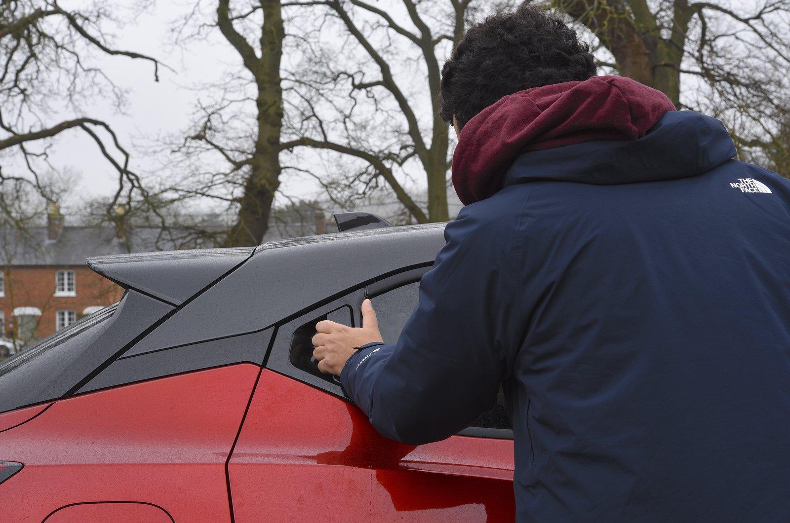 Nissan Juke Long-term door handles