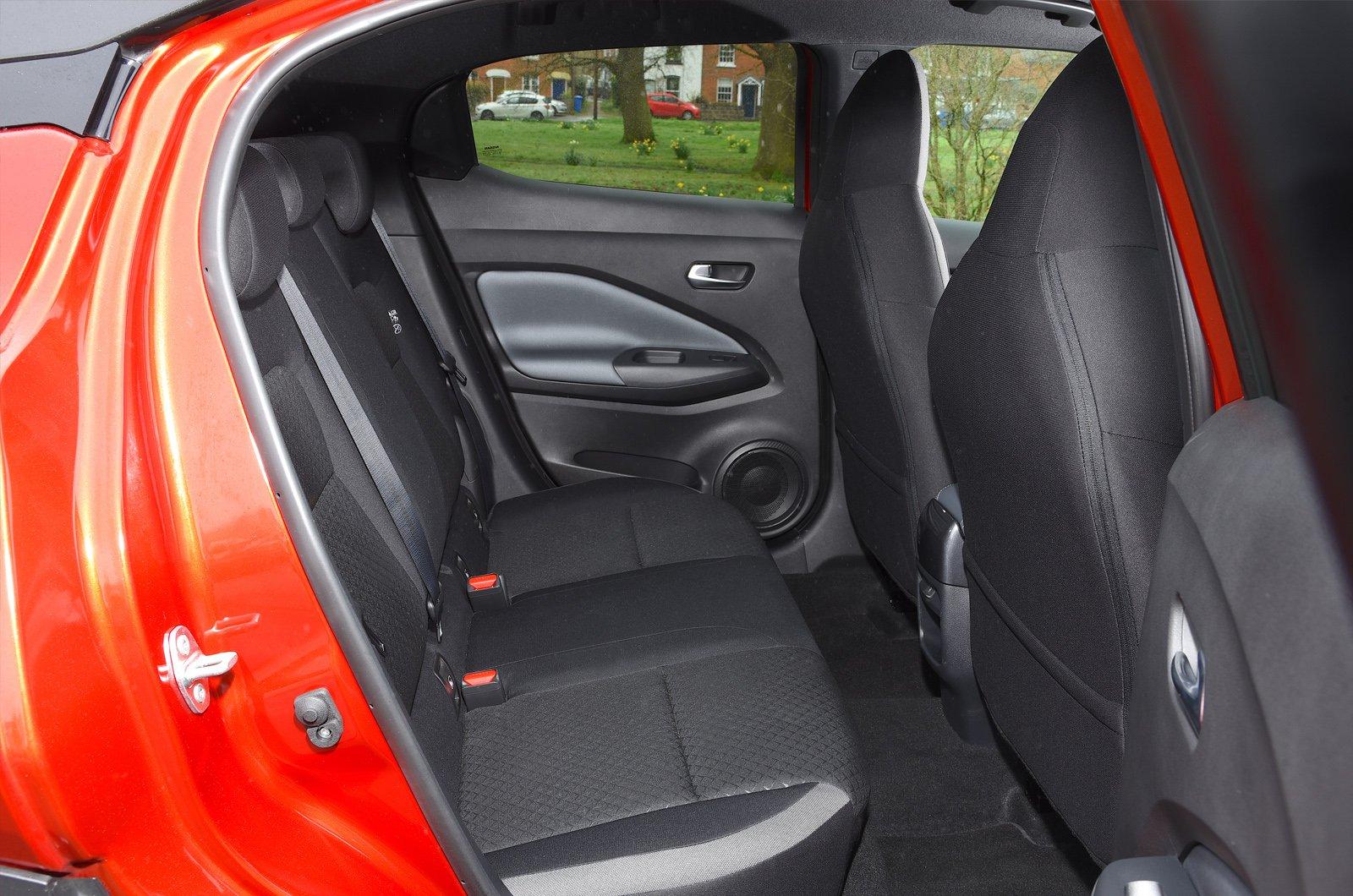 Juke Long-term test rear seats