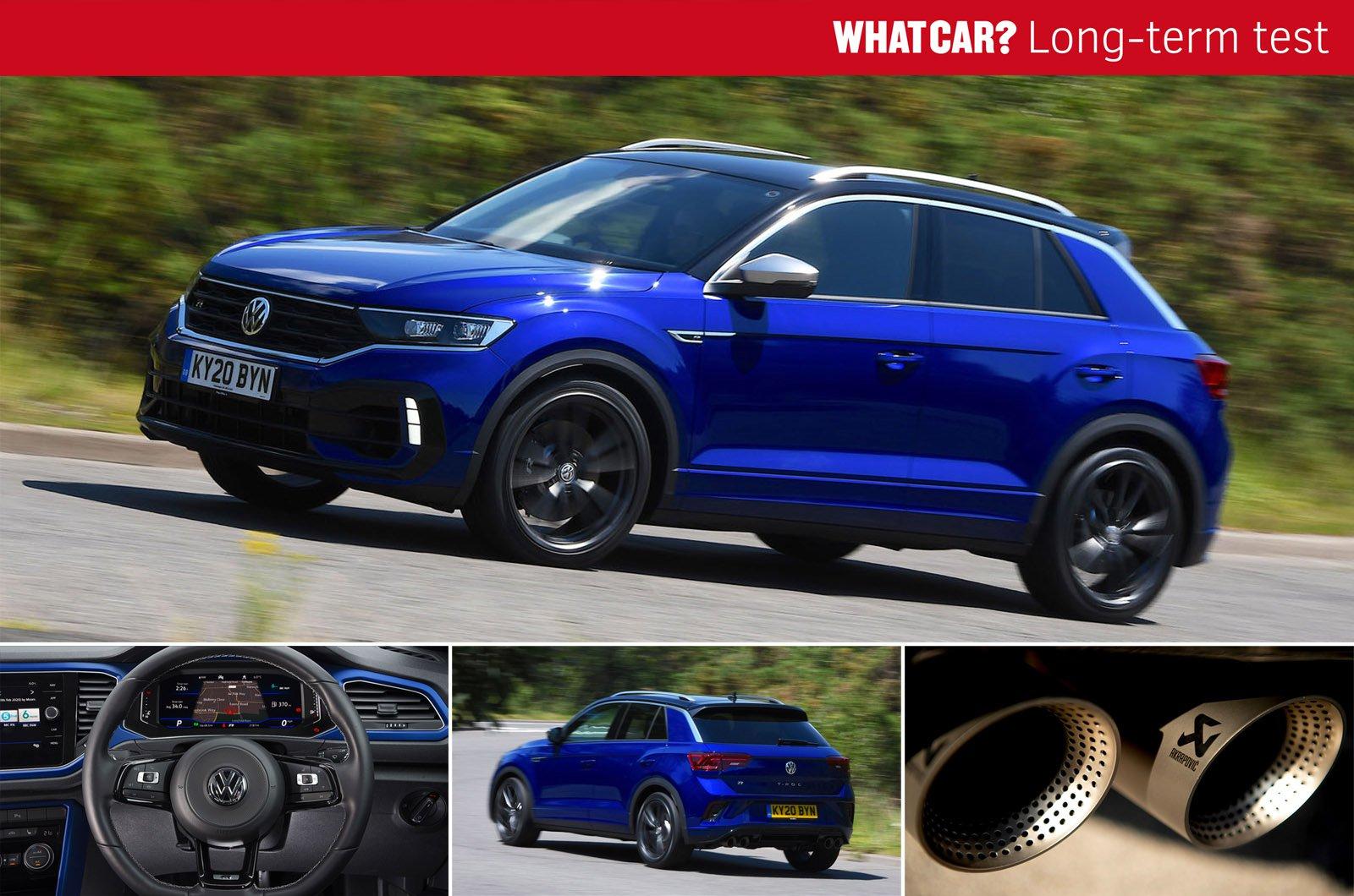 LT Volkswagen T-Roc R header