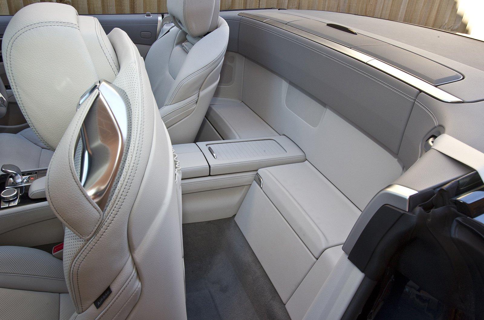 Mercedes SL rear storage
