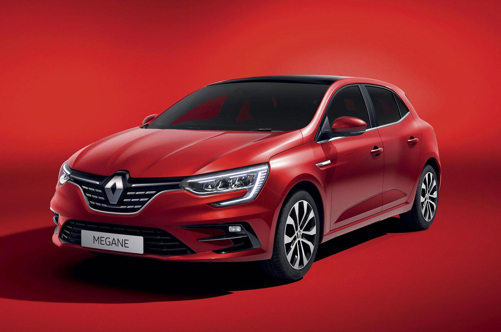 2021 Renault Megane front