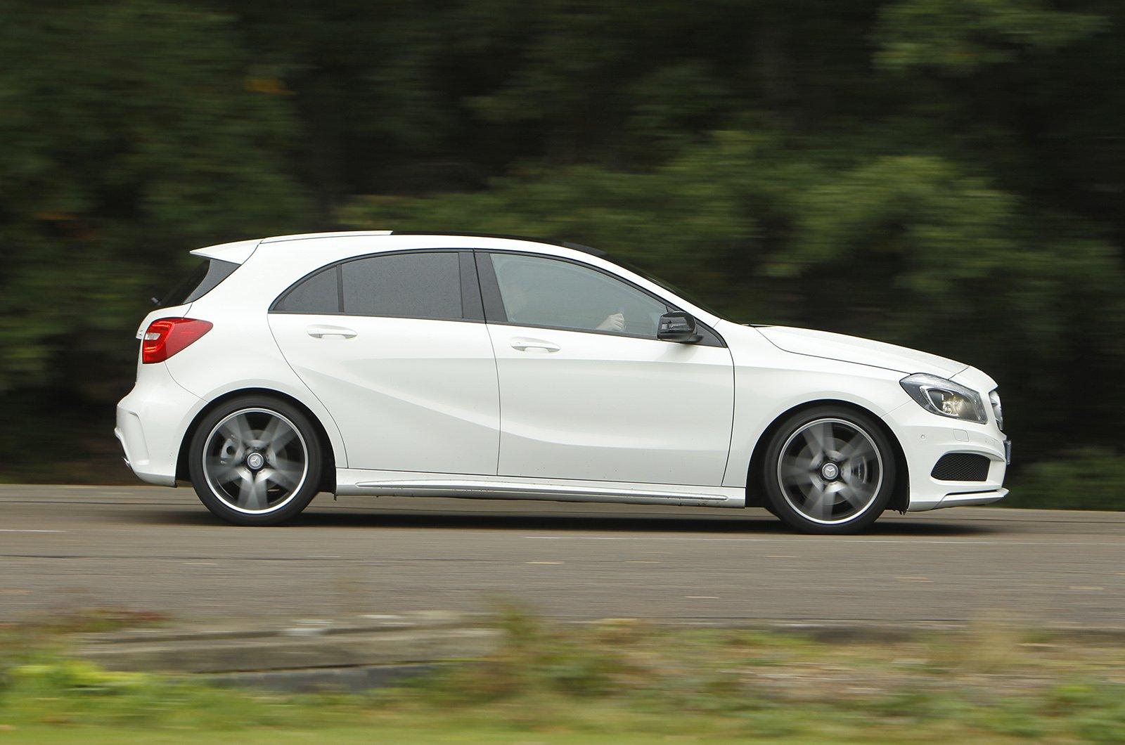 Mercedes A-Class panning