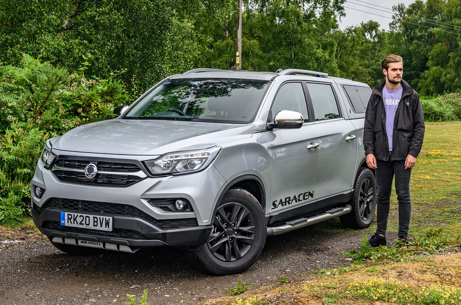 Ssangyong Musso with Oli