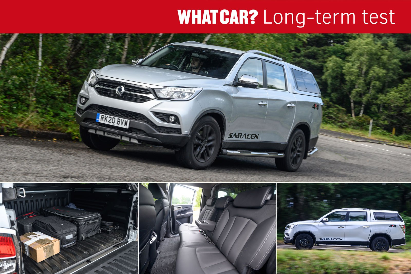 Ssangyong Musso compilation image