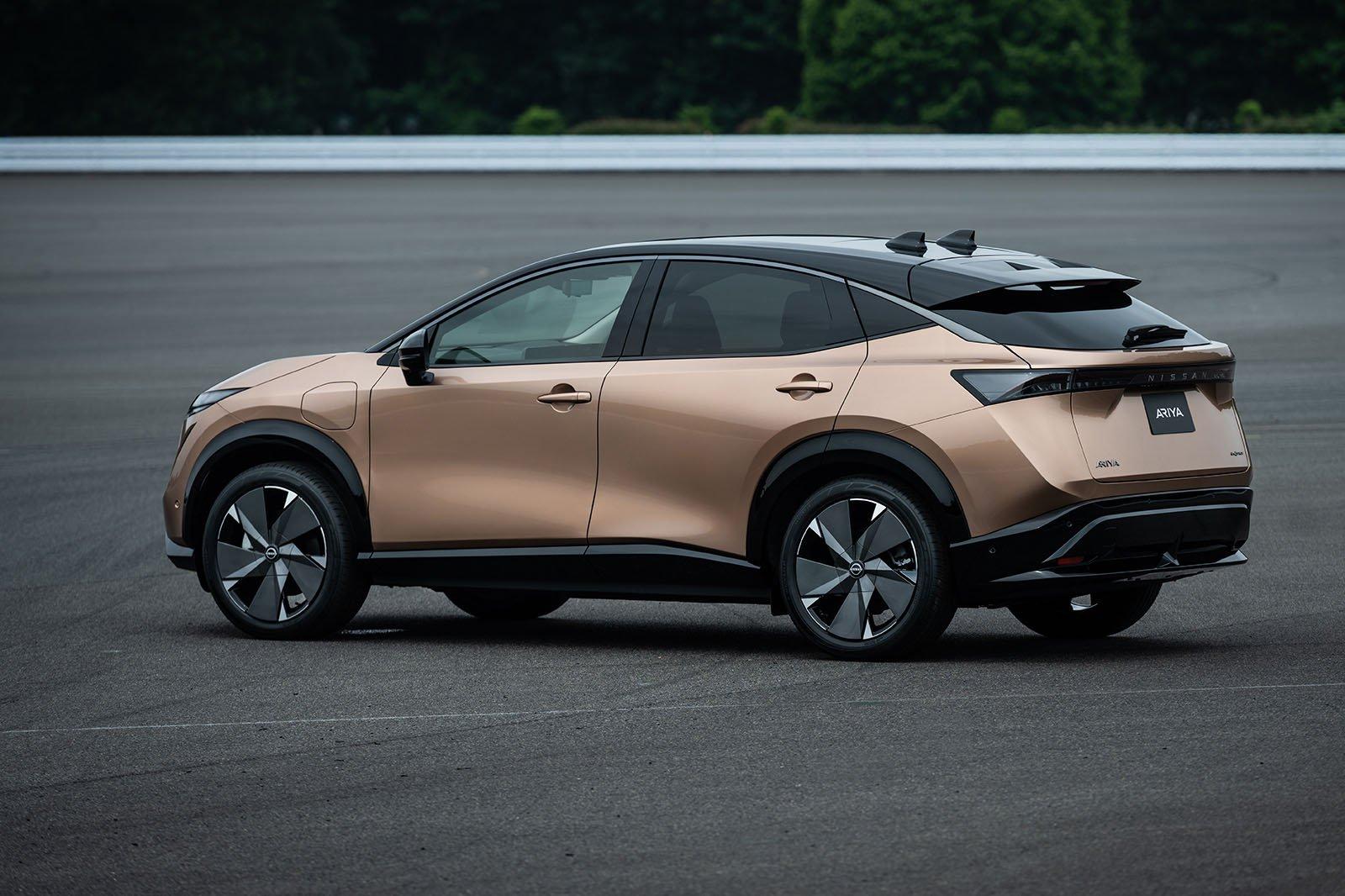 2021 Nissan Ariya rear