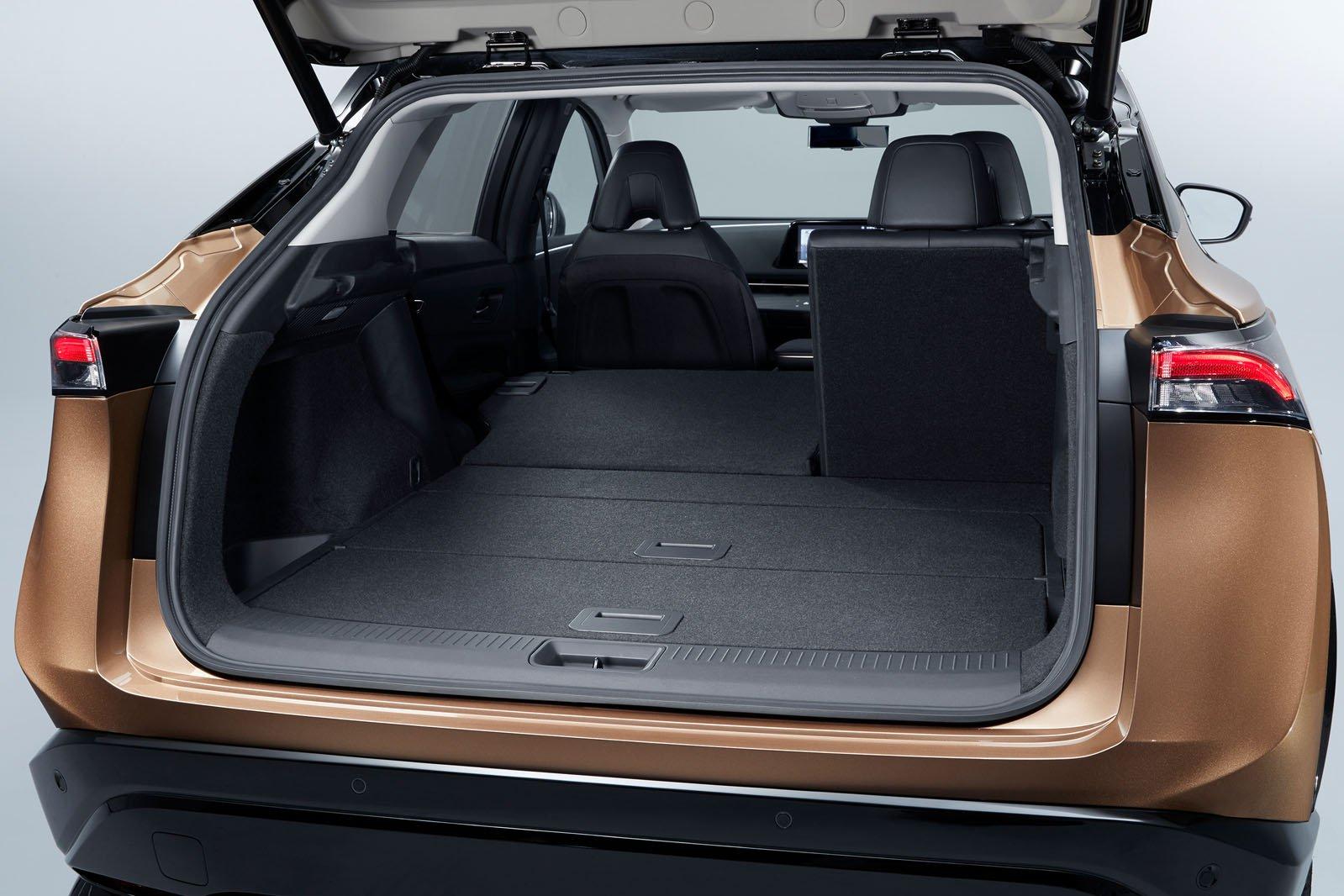 2021 Nissan Ariya boot