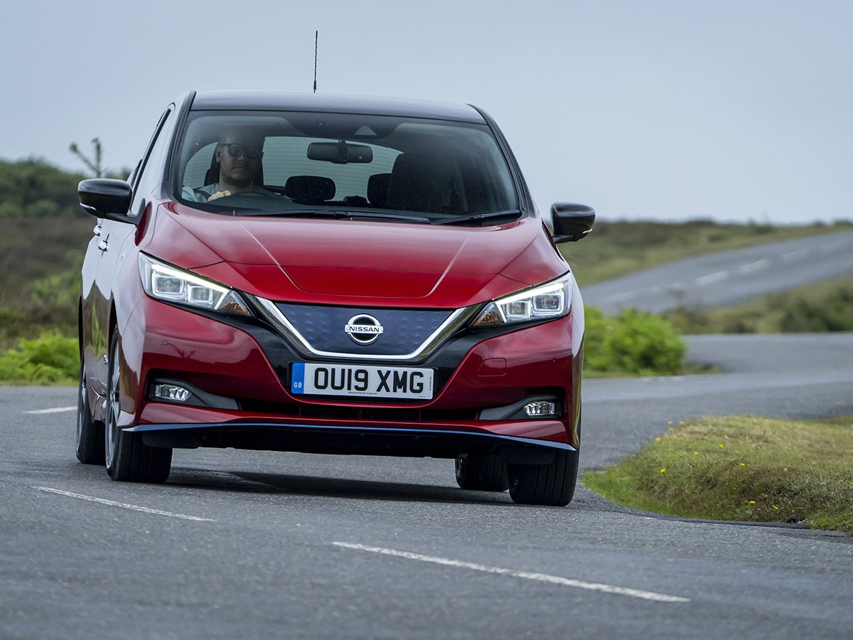Nissan LEAF e+ models have an impressive 217PS and 340Nm of instant electric torque, delivering 0-62mph in just 6.9sec