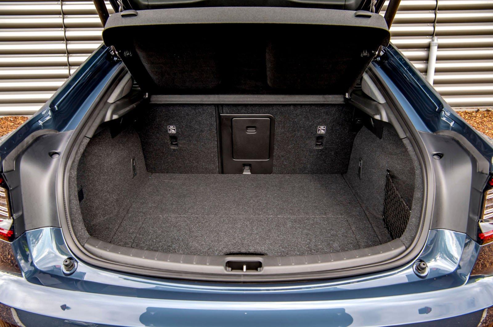 Polestar 2 rear boot - 2020 car