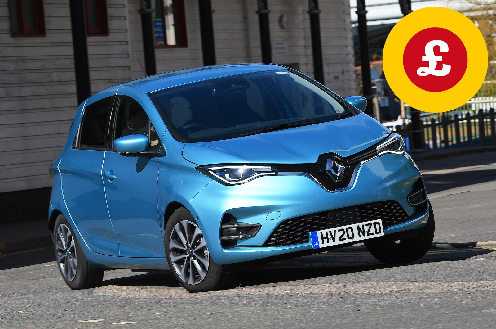 Renault Zoe with Target Price logo