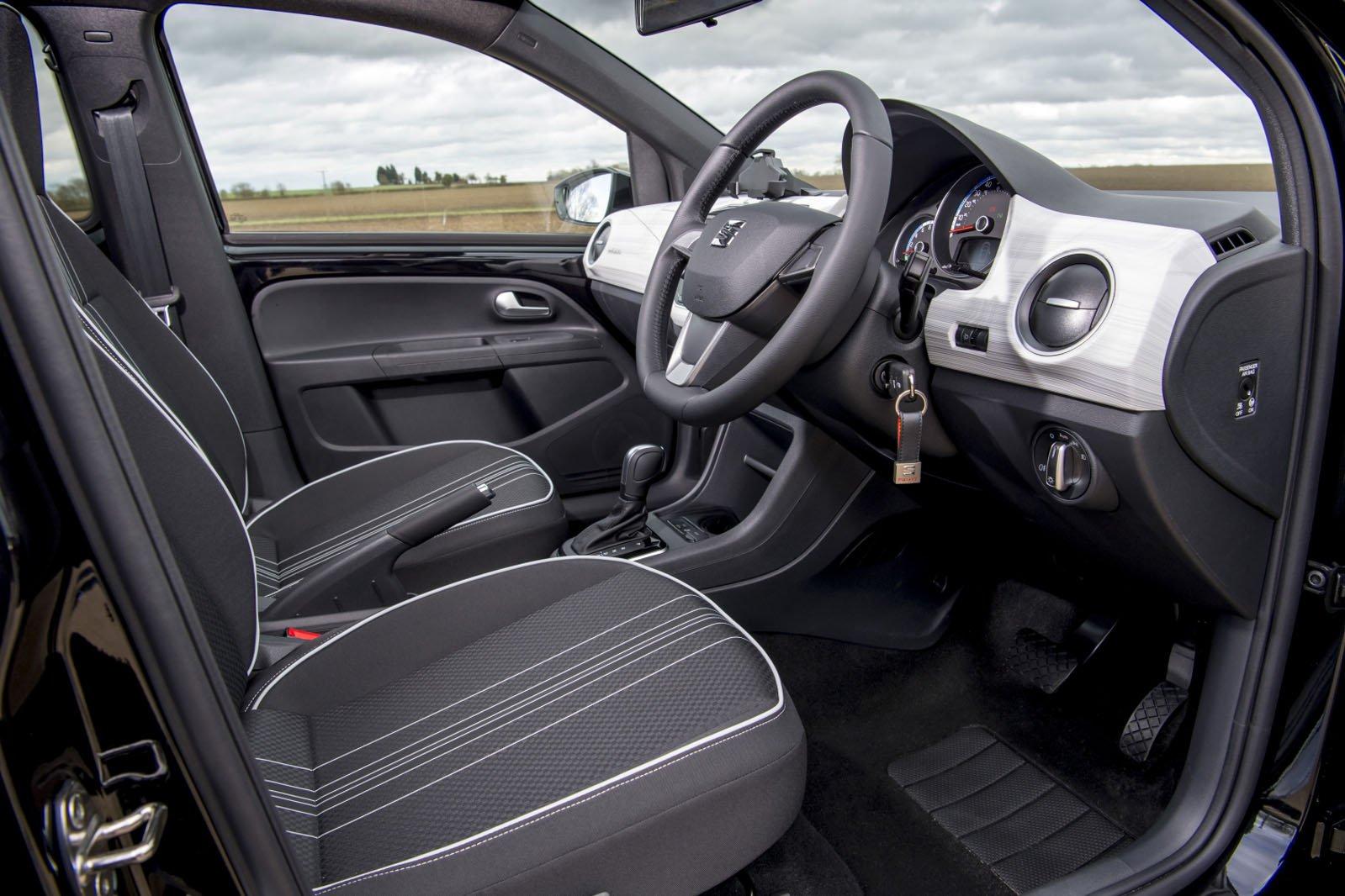 Seat Mii Electric 2020 RHD front seats