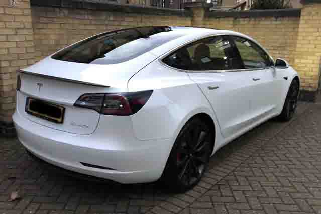 Tesla Model 3 owner review - Grant rear high