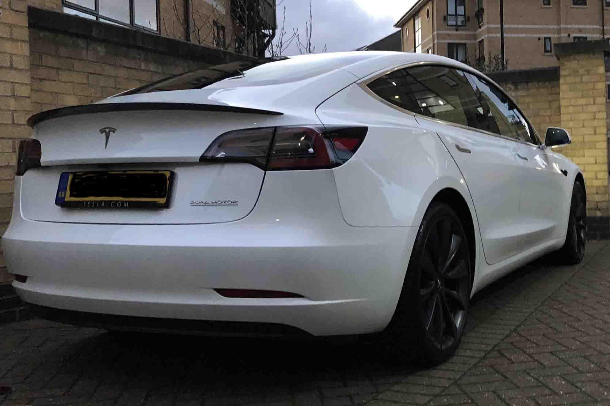 Tesla Model 3 owner review - Grant rear