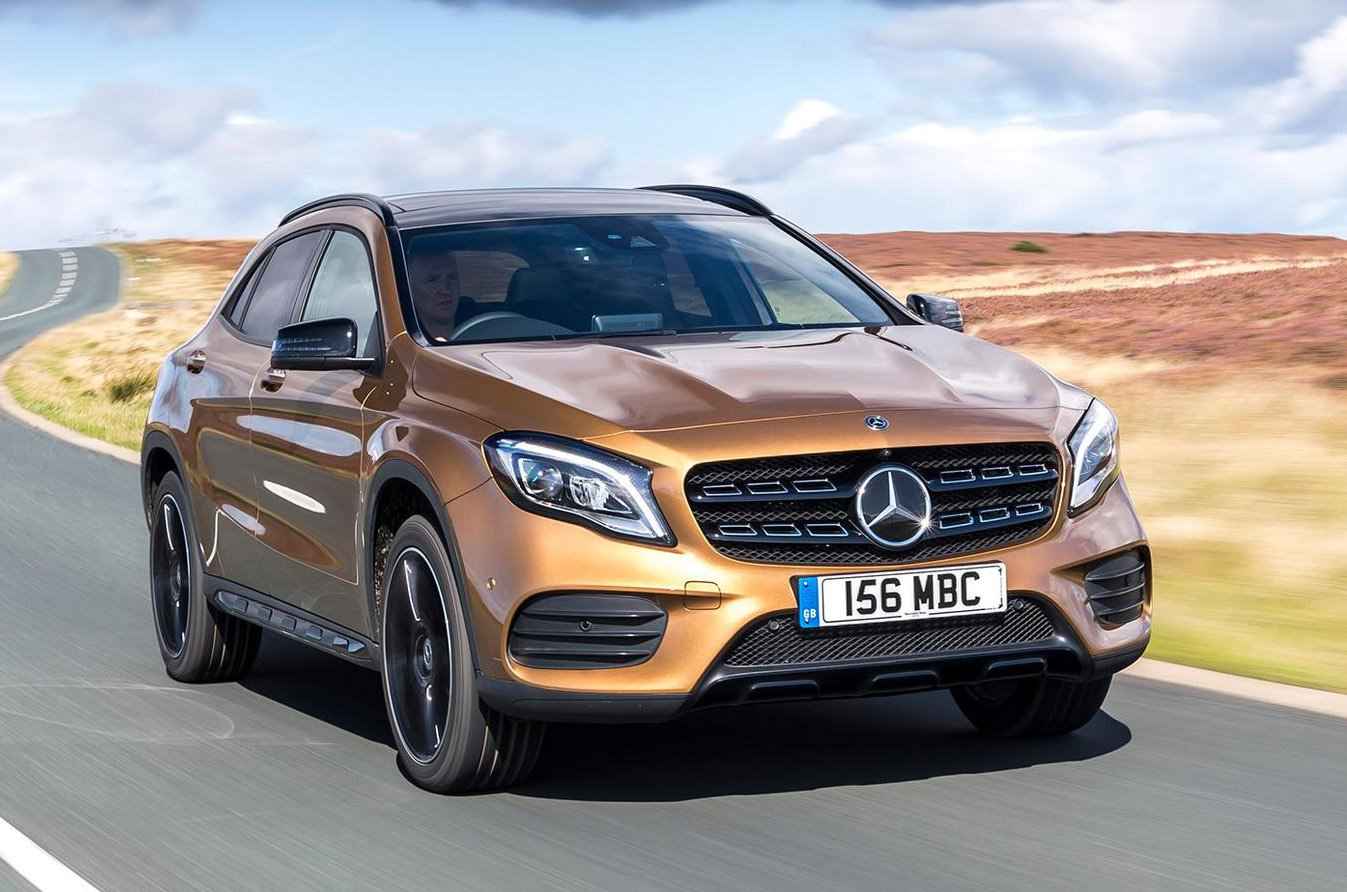 Used Mercedes GLA front