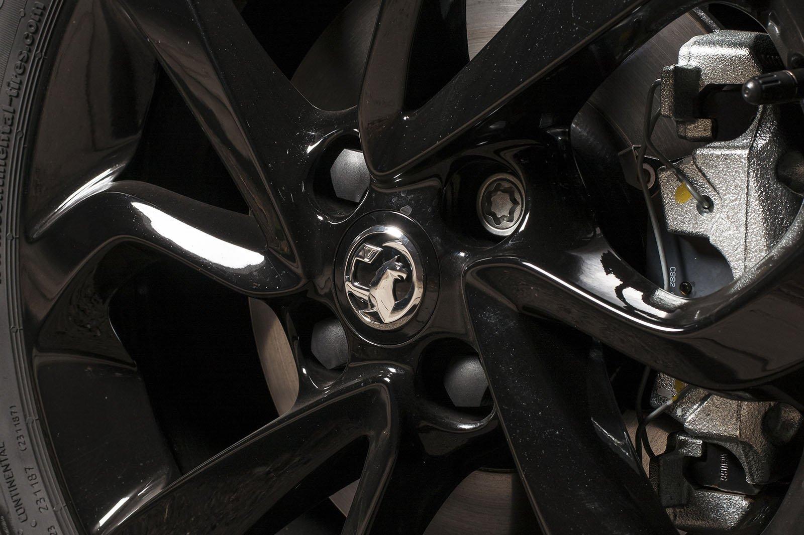 Vauxhall Corsavan alloy wheel