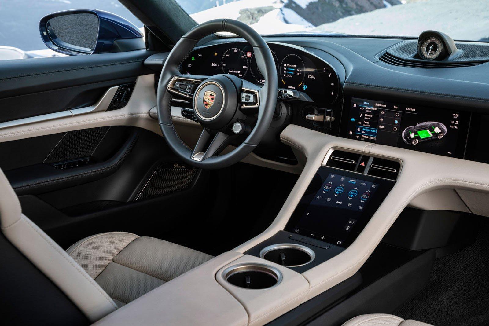 PERFORMANCE CAR: Porsche Taycan 4S