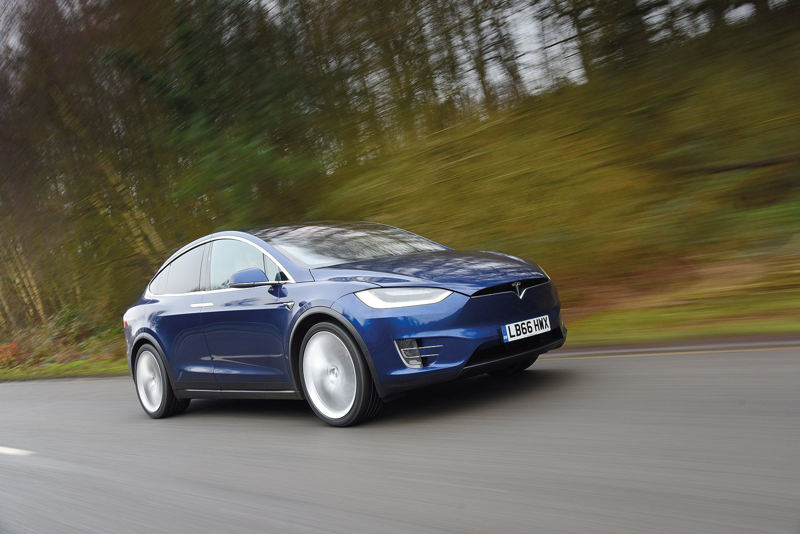 SEVEN-SEATER: Tesla Model X (7 seat)
