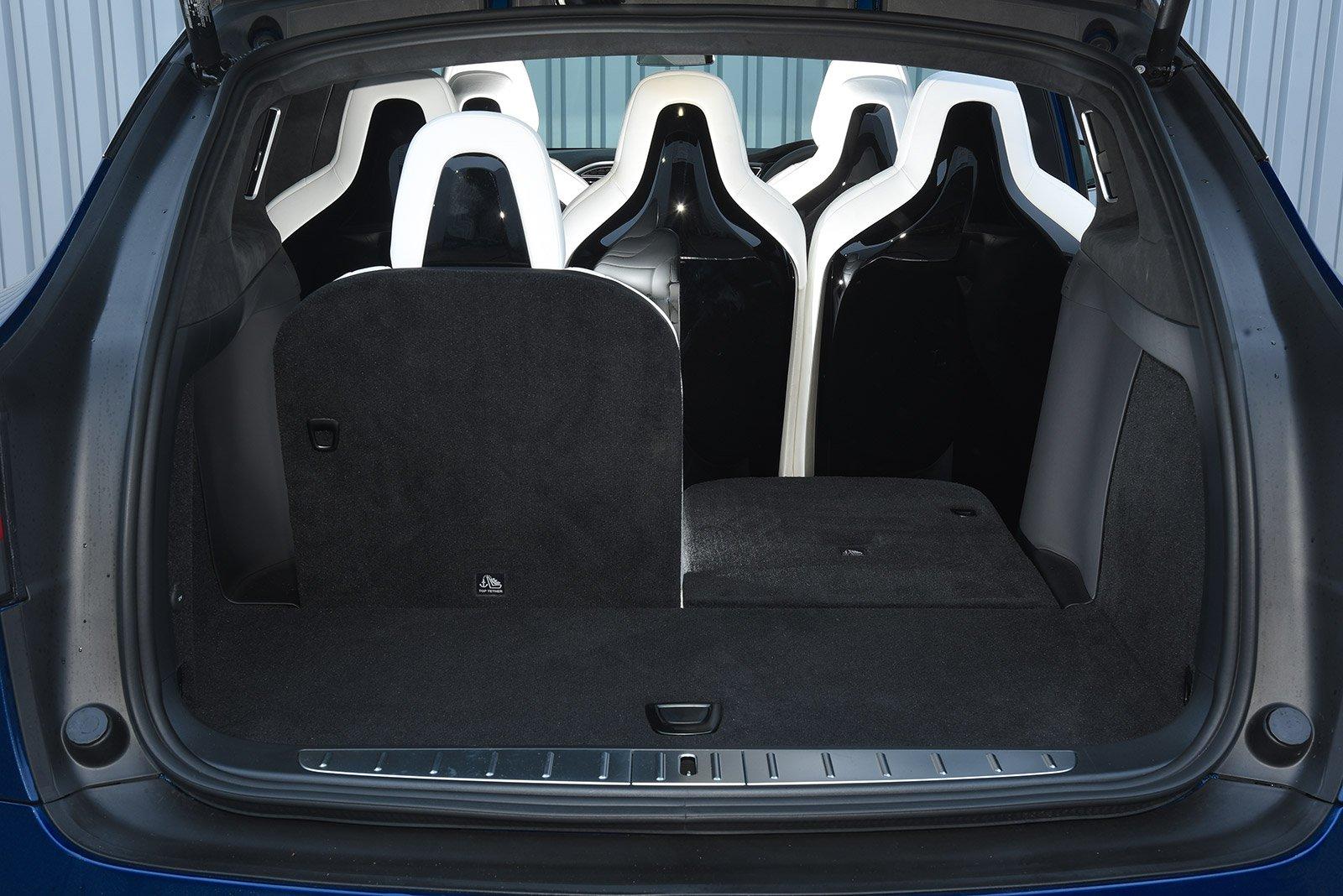 SEVEN-SEATER: Tesla Model X (7 seat) interior