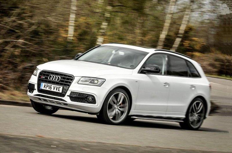 2016 Audi SQ5 front