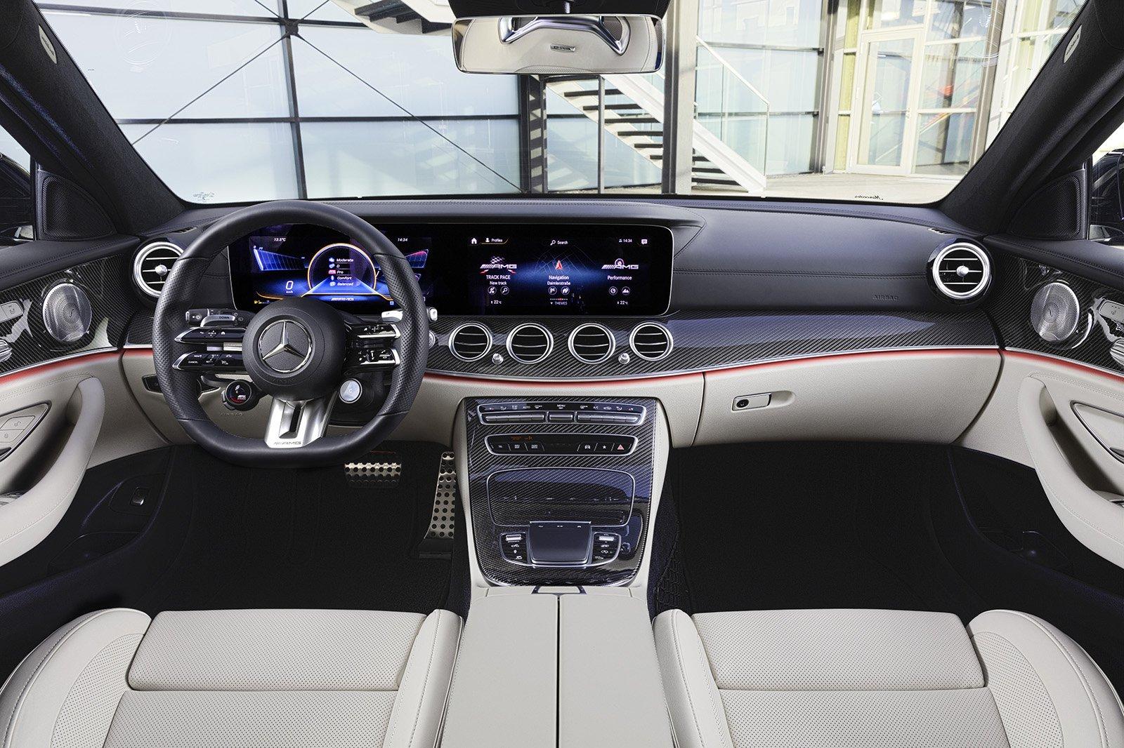 Mercedes E Class 2020 RHD dashboard