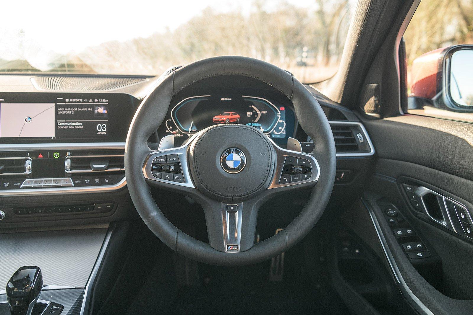 EXECUTIVE CAR: BMW 3 Series 330e M Sport dashboard