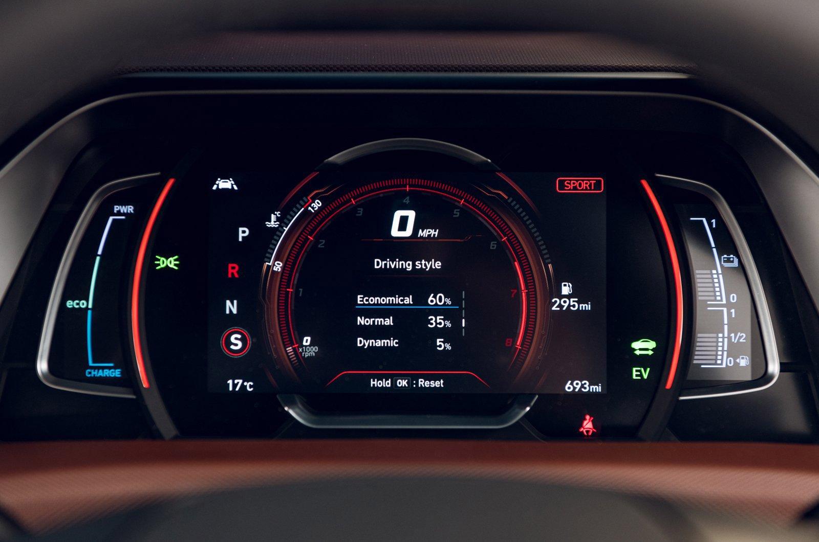 FAMILY CAR: Hyundai Ioniq Electric Premium interior